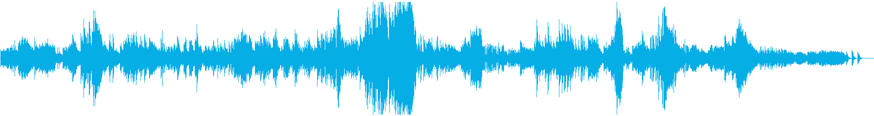 ドビュッシー ベルガマスク4 パスピエの再生済みの波形