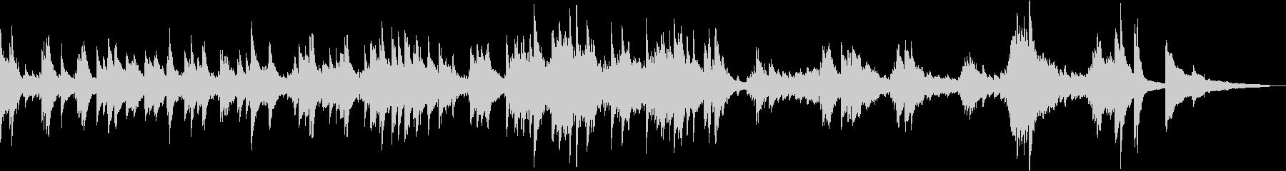 悲劇的なピアノバラード(悲しい・BGM)の未再生の波形