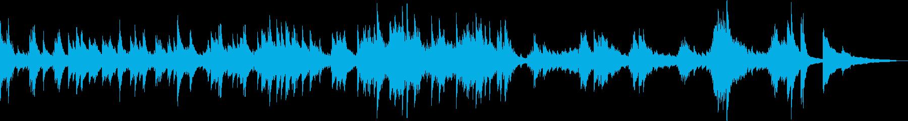 悲劇的なピアノバラード(悲しい・BGM)の再生済みの波形
