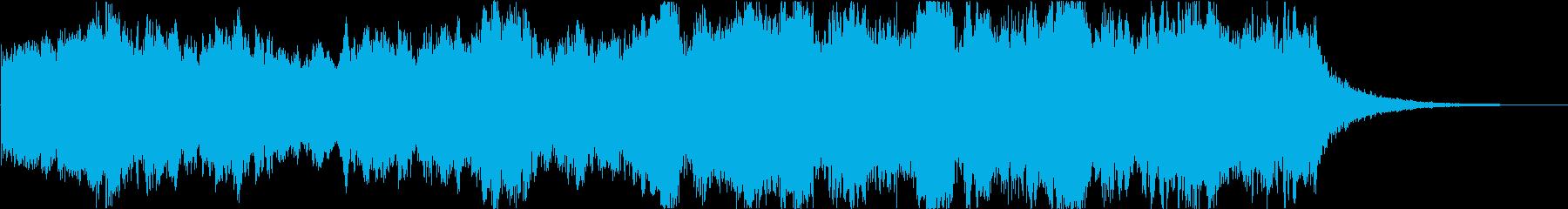 オーケストラ 豪華な雰囲気 短い完結の再生済みの波形