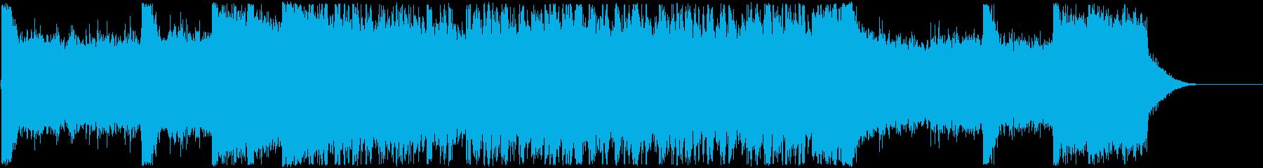 ゲーム・モンハンのようなかっこいいOPの再生済みの波形