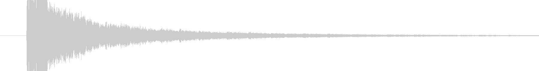 VERYSHARPバージョン2の未再生の波形