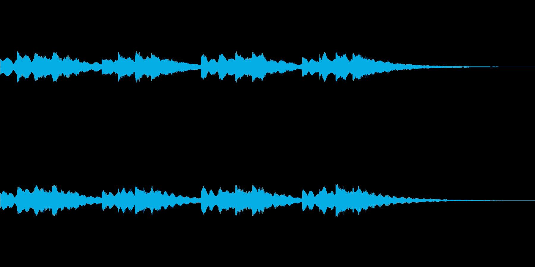 【チャイム 学校01-2】の再生済みの波形