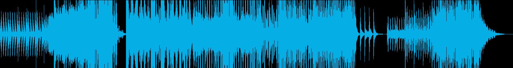 スマホのCMでありそうな爽やかポップスの再生済みの波形