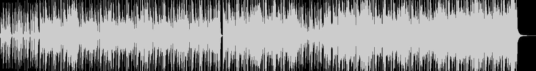 ストリート育ちイメージのヒップホップ Dの未再生の波形