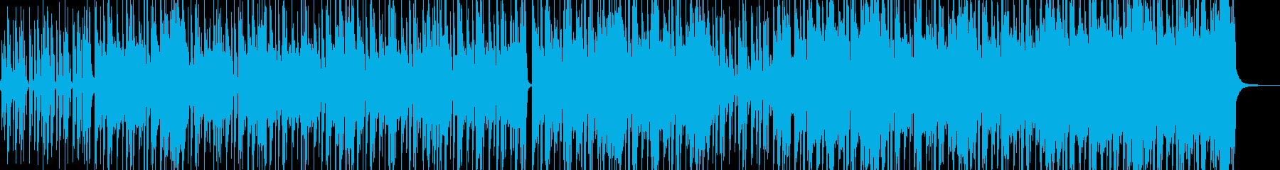 ストリート育ちイメージのヒップホップ Dの再生済みの波形