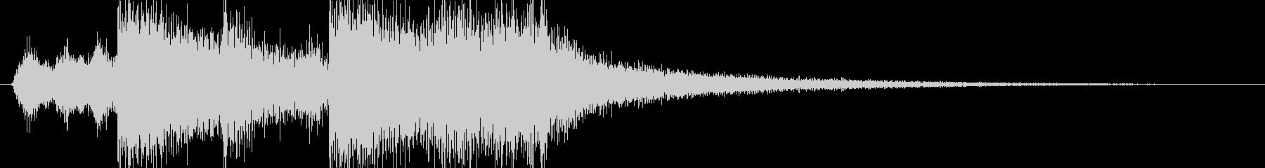 オーケストラオープニング曲の未再生の波形