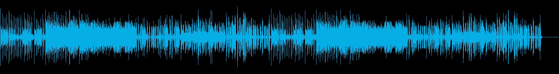 チープ、シンセ、テクスチャー2の再生済みの波形