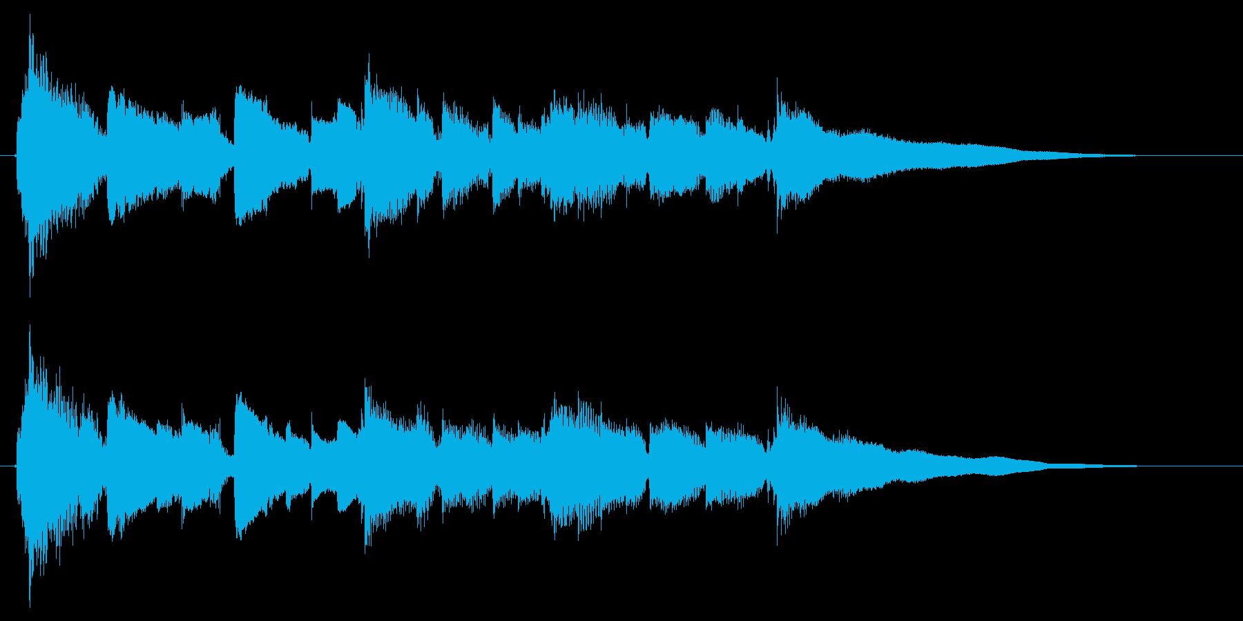 アコギ生演奏2/穏やかで平和なジングルの再生済みの波形