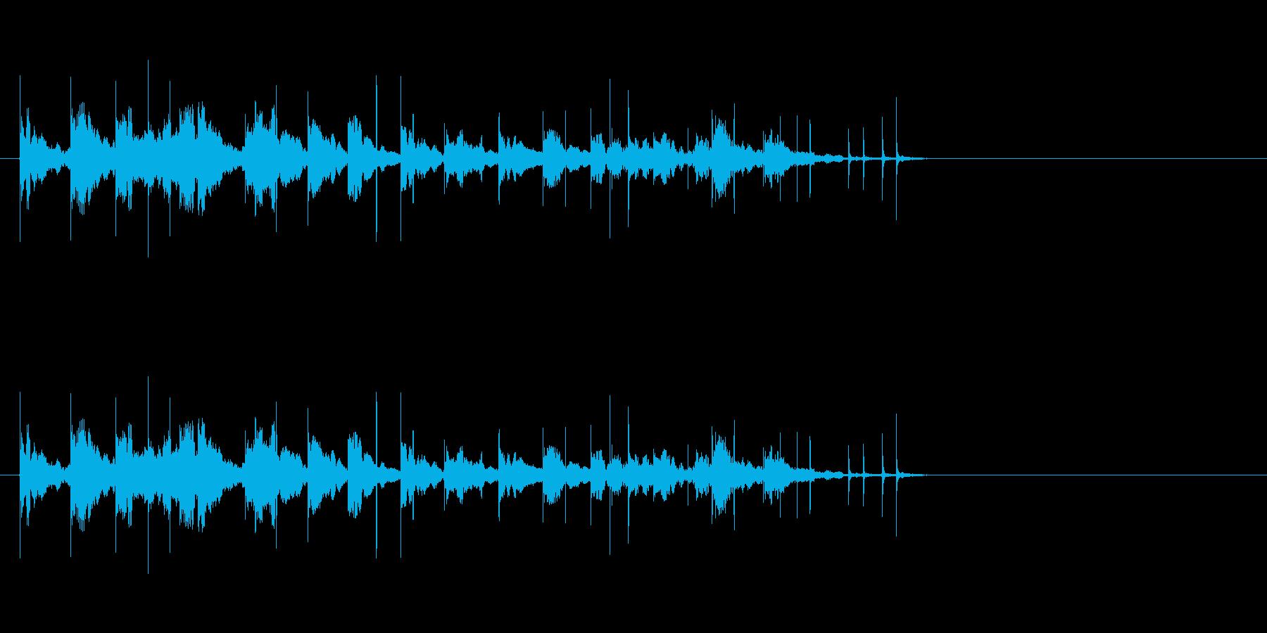 花火-ロケット4の再生済みの波形