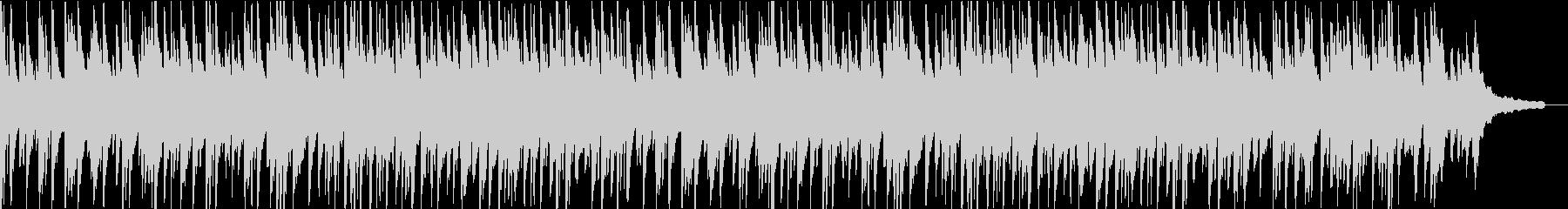 ほんわかしたピアノの曲ですの未再生の波形