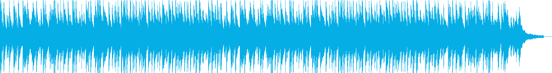 ほんわかしたピアノの曲ですの再生済みの波形