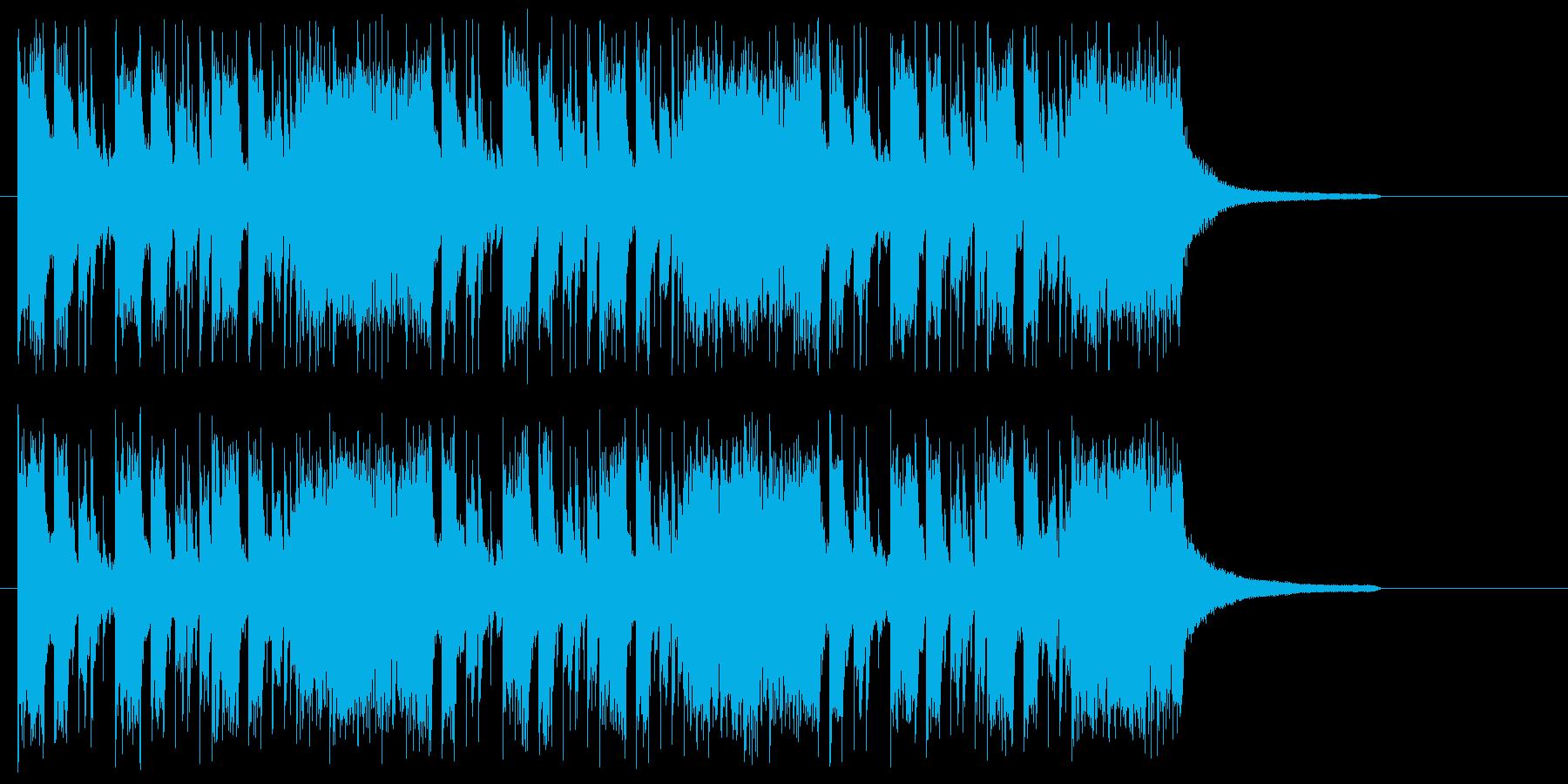 爽やかな和風 Future Pop の再生済みの波形