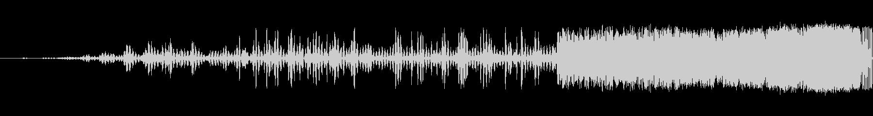 細いスワイプ4の未再生の波形