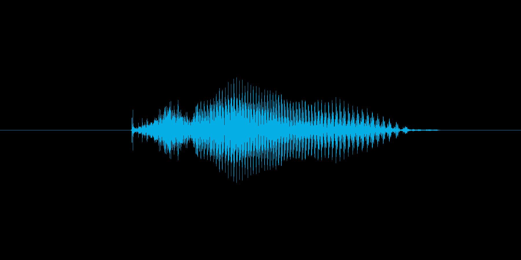 9(数字、女性)の再生済みの波形