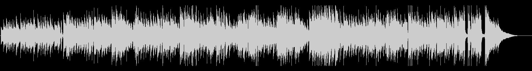 生録音アコギの軽快なボサノヴァの未再生の波形