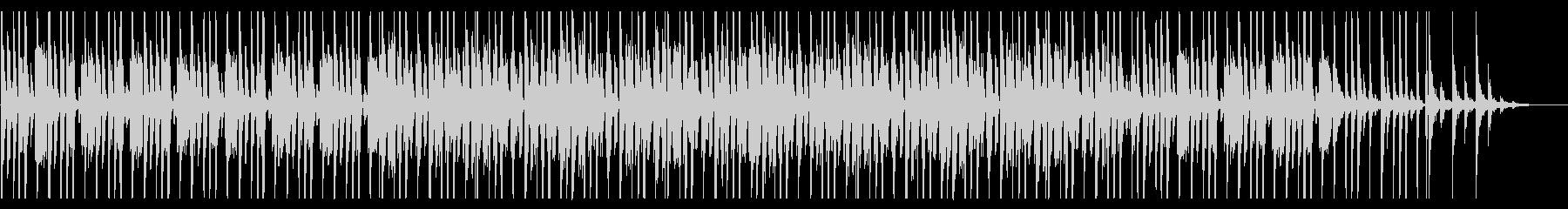 コミカルなファンク_No691_3の未再生の波形