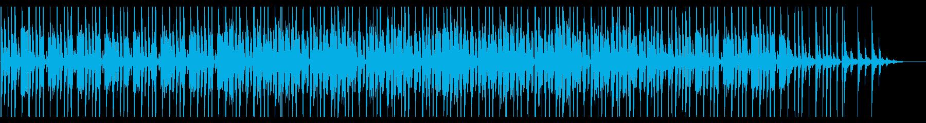 コミカルなファンク_No691_3の再生済みの波形
