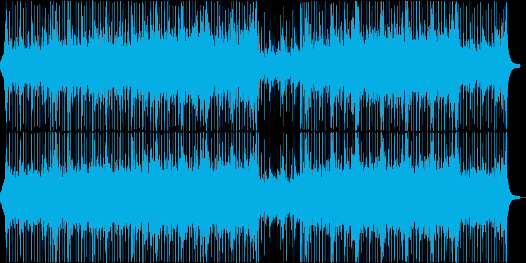 おしゃれ7の再生済みの波形