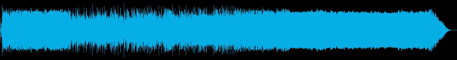 エンディング感のあるストリングスバラードの再生済みの波形