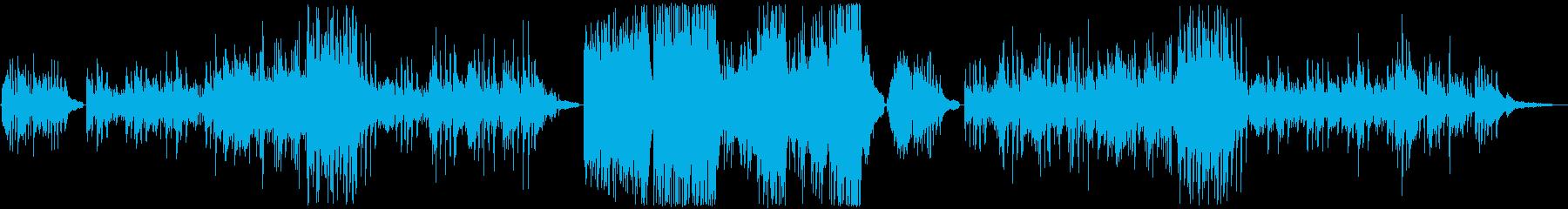 幅広い用途にお使いいただけるピアノソロ…の再生済みの波形