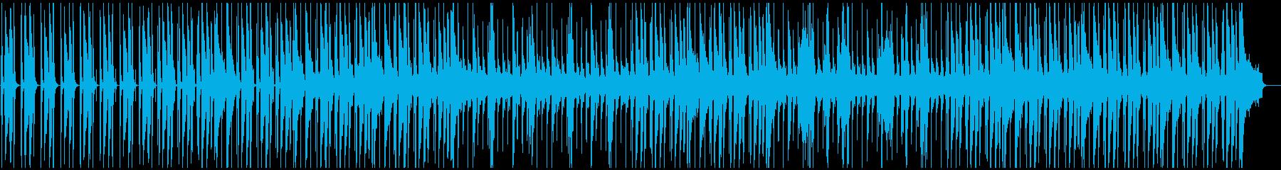 ジャジーなイージーリスニングの再生済みの波形