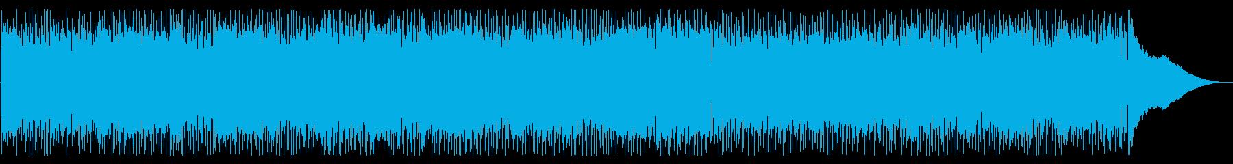 90年代V系バンド風ロック(メロ無し)の再生済みの波形