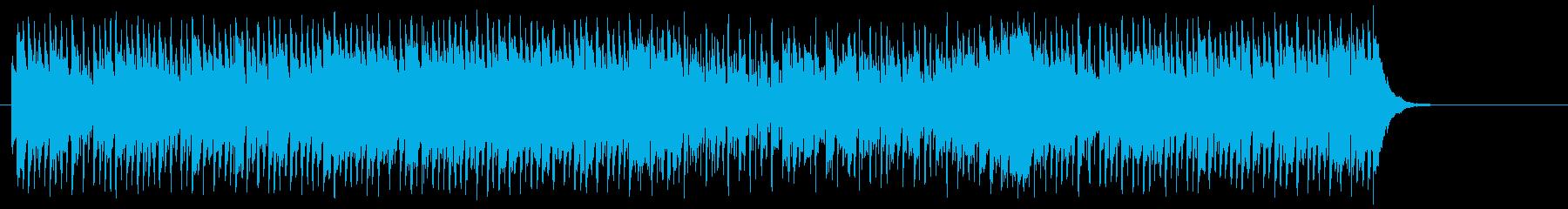 シュプールを描くポップ(A~B~A)の再生済みの波形
