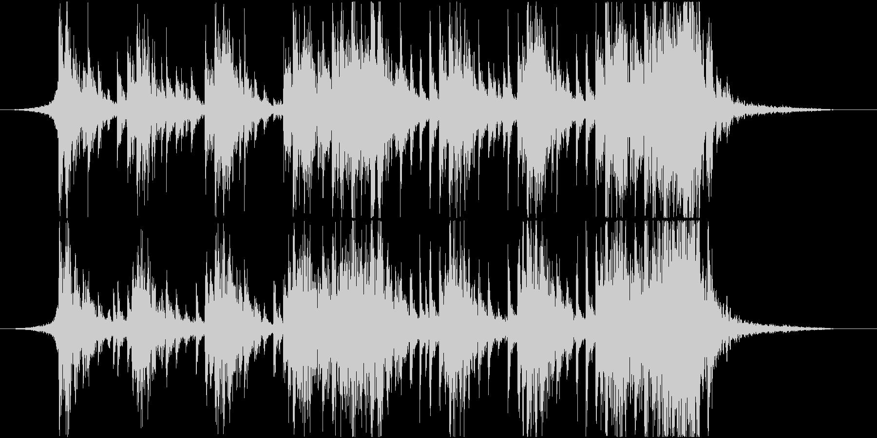 エピック、ドラム、ロゴ、ジングルの未再生の波形