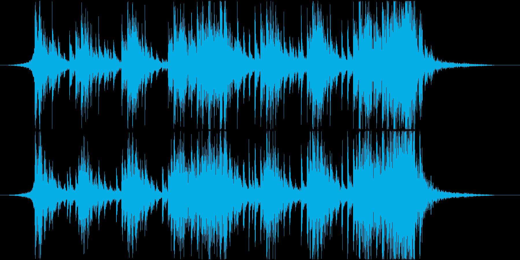 エピック、ドラム、ロゴ、ジングルの再生済みの波形