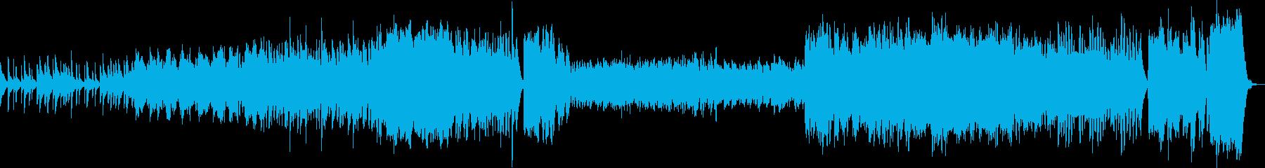 例の魔法魔術学校っぽい曲(ワルツ)の再生済みの波形