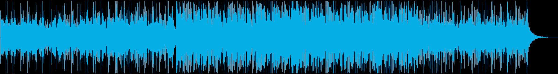 アート系クールな疾走アンビエントテクノの再生済みの波形