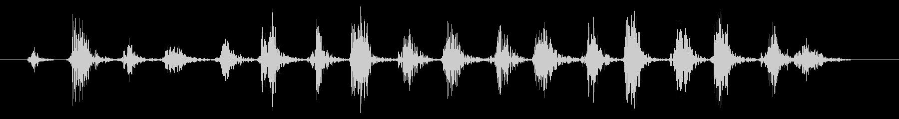 下敷き01-2の未再生の波形