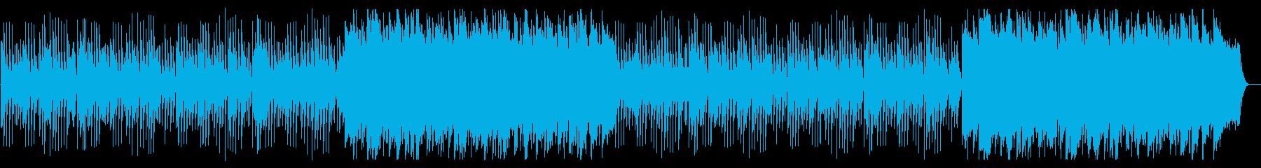 不思議で可愛いリズムの自然を感じる曲の再生済みの波形