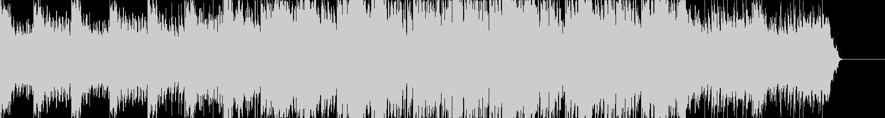大自然の中のダイナミックなピアノチルの未再生の波形