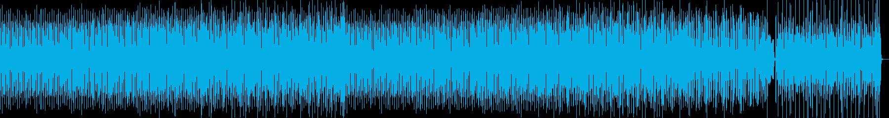 キュートでハッピーなトークになる音楽の再生済みの波形