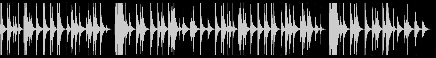 京都の高級日本料亭の琴の未再生の波形