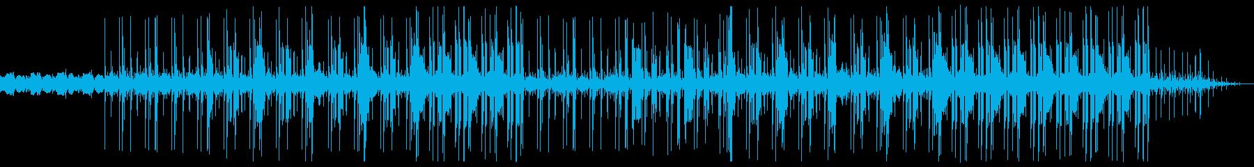 神秘的 幻想的 トラップビートの再生済みの波形