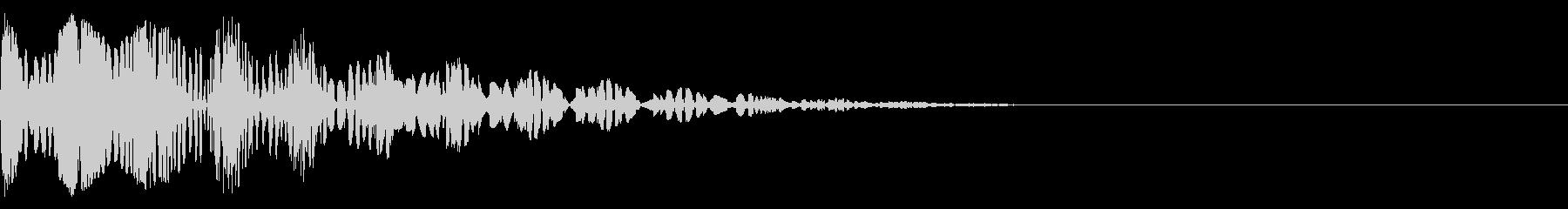 ブニョニョ(マイナスイメージ_毒)の未再生の波形