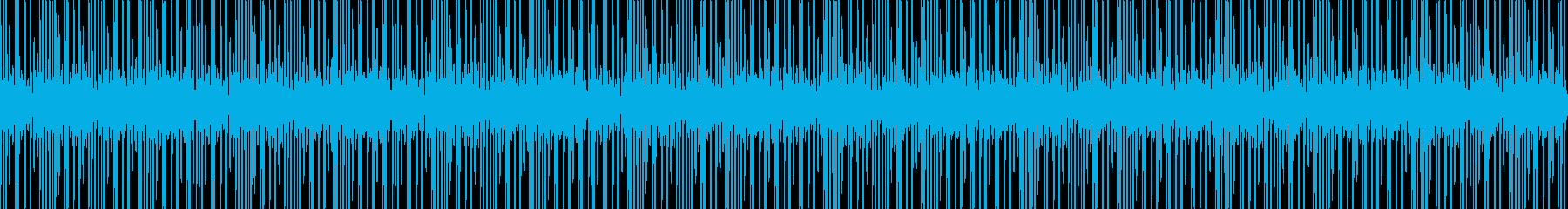 研究所のビートの再生済みの波形