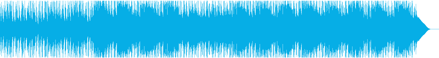 ウクレレと口笛の楽しい楽曲の再生済みの波形