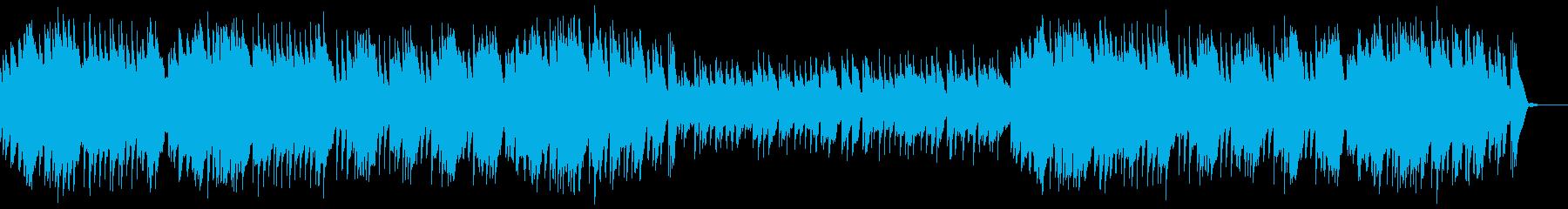 オルゴールによるトルコ行進曲の再生済みの波形