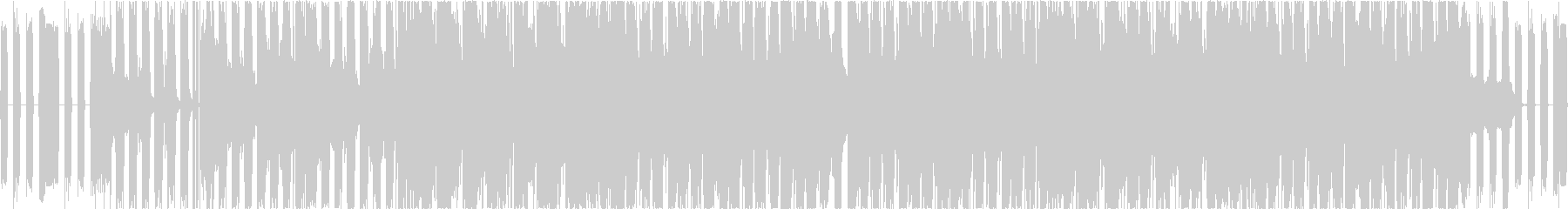 エレクトロでBGM用に。の未再生の波形