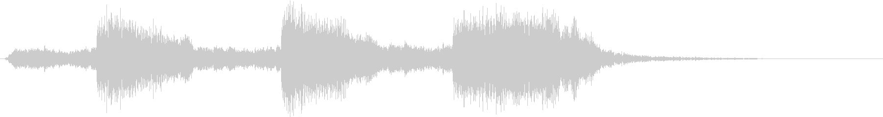 トムとジェリー風なアニメ音楽「驚き」6の未再生の波形