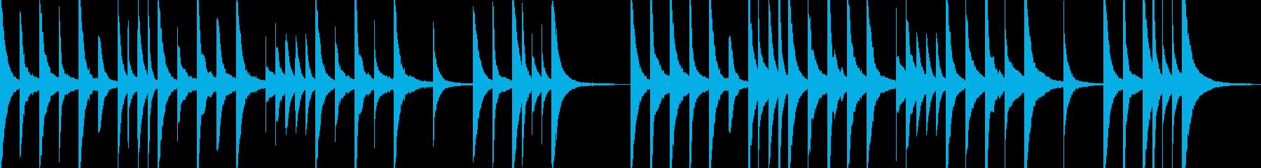 悲しい幻想的オルゴール ゲームオーバーの再生済みの波形