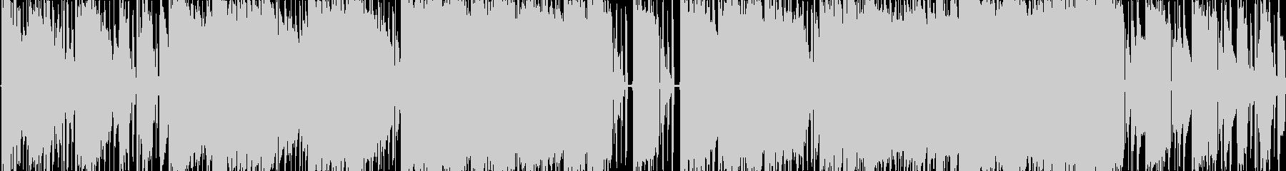 エレクトロニック 感情的 説明的 ...の未再生の波形