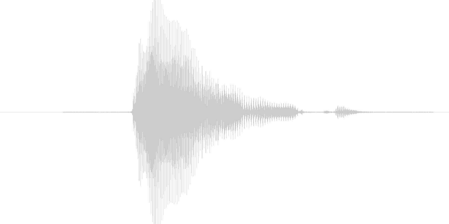 5(ふぁいぶ)の未再生の波形