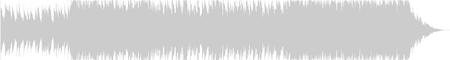 エモーショナルなバラードの未再生の波形