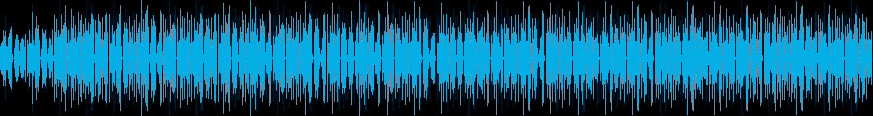 【BGM】リラックス・ギター・サブカルの再生済みの波形