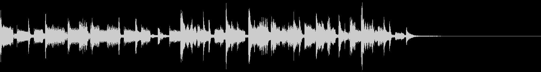 ディープでチルなEDM+ヴォイス 12秒の未再生の波形